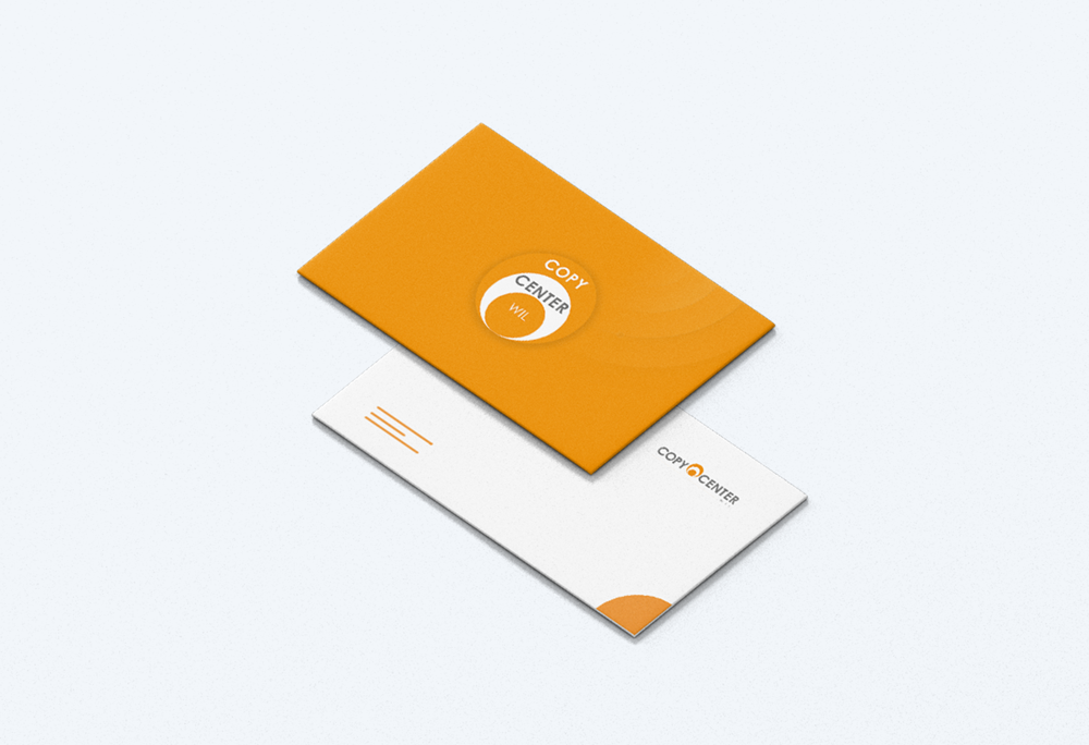 Visitenkarten Druckerei Copy Center Wil