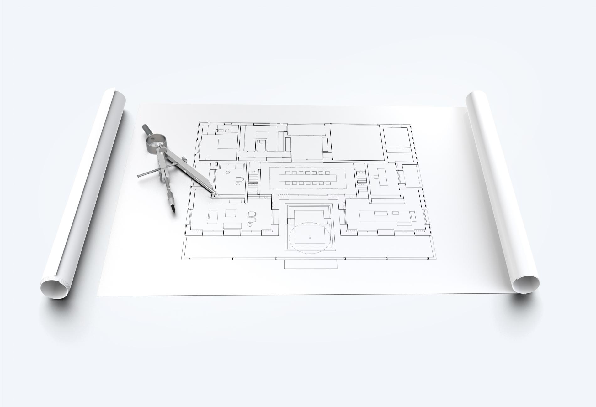 CAD-Pläne plotten und drucken Copy Center Wil
